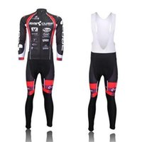 Wholesale Cube Jersey Bib - 2015 MHW CUBE Winter Thermal Long Sleeve Cycling jersey(Bib Set None Bib Set) Bicycle Wear
