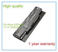 Wholesale Asus N56dp - Wholesale- 5200MAH NEW Battery A32-N56 Z96H N56DP N56V N56VJ Z96F