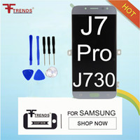 Wholesale Lcd Oled - 100% Tested Oled High Quality For Samsung Galaxy J7 Pro 2017 J730 Lcd Display With Touch Screen Digitizer Assembly Replacement Parts