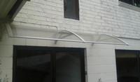 toldo de aluminio al por mayor-DS100200-A, 100x200CM.White Grey Black Aluminum Bracket Disponible Door Door Door, toldo de la puerta del toldo