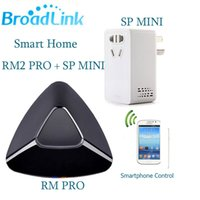 Wholesale Pro Timer - Wholesale-Broadlink RM2 Pro Universal Intelligent Remote Controller+SP MINI Wifi Smart Socket,Wifi+IR+ RF Switch with Timer For Smart Home
