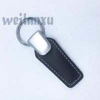 Wholesale Honda Rings - Key Rings Leather Car Keychain Keyring Key Part Holder Car Emblem for bmw benz honda MITSUBISHI Land Rover mini vw Nissan