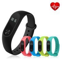 Wholesale Android M2 - Water Resistant Smart band M2 Bluetooth4.0 Waterproof IP67 Smart Bracelet Heart Rate Monitor Sleep monitor Wristband For Android iOS