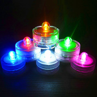 Wholesale Light Led Battery Clear - LED Light Battery Candle Light Fliker Flameless Lights Decoration Candles Lamp Random Colorful Can Be Blown Out Of Electronic for Party