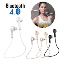 Wholesale bluetooth cell phone car resale online - V3 Mini Bluetooth Earphone V4 Stereo Wireless Headphone Music Handsfree Car Driver Sports Headset Phone Stealth Earbuds With Microphone