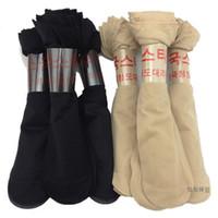 Wholesale Tube Ladies Dresses - Wholesale- 10 Pairs Lot Hot Sale High Quality Women Nylon Short Socks Black Nude Tube Socks For Lady Dresses Socks Free Shipping
