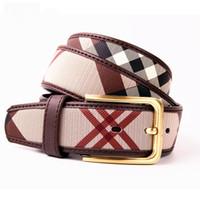 cintos femininos cinturones al por mayor-NUEVO Cinturón de Alta Calidad Para Hombres Mujeres Moda Cintos Femininos Pinhole button Casual Cinturones de lujo simple cinturones de diseño hombres alta calidad