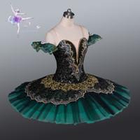 Wholesale Ballet For Sale - 2017 Hot sale Adult Ballet Tutu Dresses Green Professional classical Ballet Princess Constume for big theatre performace
