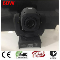 Wholesale Moving Head Gobo - 60W LED Spot Moving Head Light  dj controller LED lamp Light 60W gobo led moving head lights super bright
