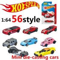 Wholesale Convertible Cars - hot wheels Mini Alloy cars metal Basic Cars Diecast Vehicle model 1:64 Racing car Sports car convertible jeep Collection kids toys wholesale