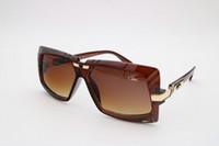 Wholesale Children S Plastic Sunglasses - Ca zal Sun glasses Eyewear 650 Luxury Polarized Vintage Mens Womens Aviator Sunglasses Brand Designer Oversized Big Frame EyeglassesCa zal S