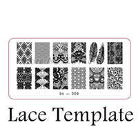 Wholesale Stamps Image Plate - Wholesale-Explosion models nail products nail stamping image plate print templates feather bc-009X
