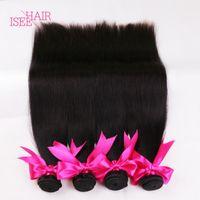 Wholesale Online Human Hair Extensions - Brazilian Virgin Hair Straight Cheap Online Brazilian Mongolian Chinese Cambodian Straight Human Hair Weave Unprocessed Human Hair Extension