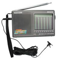 Wholesale Degen Sw Radio - DEGEN DE1103 Radio FM SW MW LW SSB Digital Radio Receiver Multiband DSP Radio External Antenna Y4162H