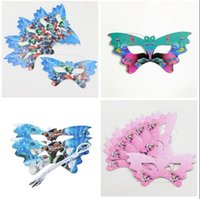 Wholesale Masks Party Supply - Party Decoration Mask Moana Paper Mask Trolls Poke Mickey Minnie Emoji Kids Birthday Party Supply Event Party Supplies DHL Free Shipping