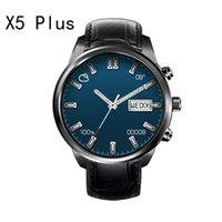 Wholesale Polished Bracelet Steel Man - Smartwatch android x5plus x5 plus smart bracelet finow watch with wifi heart rate bluetooth gps tracker oled touch screen steel for men