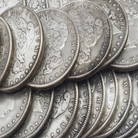 Wholesale Buddhism Dance - US Coins morgan dollars 5 coins (1878cc, 1879cc, 1889cc, 1893S, 1894) Promotion Cheap Factory Price nice home Accessories Silver Copy Coins
