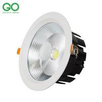 Wholesale Spots Led Ceiling Dimmable 7w - LED Ceiling Downlight Dimmable 7W 9W 12W 15W 20W 30W Recessed Spot Light Wall Down Lights 110V 120V 220V 230V 240V Indoor Lighting