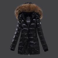 Wholesale Goose Down Parka Women - New 2016 winter women thicken down coat warm short fur coat slim down cotton padded women parka coat women down jackets