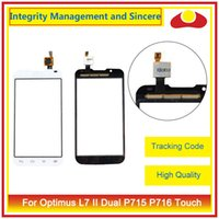 "Wholesale Optimus L7 - High Quality For LG Optimus L7 II P710 P713 L7X P715 P716 4.3"" Touch Screen Digitizer Outer Glass Lens Panel Free Shipping"