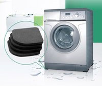 Wholesale Furniture Protector Floor - 4pcsNew Washing Machine Anti Vibration Pad Shock Proof Non Slip Foot Feet Tailorable Mat Refrigerator Floor Furniture Protectors