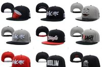 Wholesale D9 Snapbacks - mix order brand men's hat snapback caps fashion snapbacks BOY LONDON Krooked Eyes D9 Reserve cokes Booger Kids tump up Illest Pink Dolp
