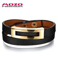 Wholesale New Arrival Hair Jewelry - Wholesale-New Arrival Fashion Women Jewelry Black Brown Leopard Vintage Genuine Leather Horse Hair Bracelet Woman Charm Wristbands MPH1005