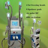 Wholesale Digital Machine Laser - lipo laser cool fat freezing 40K Ultrasonic cavitation beauty equipment rf digital slimming machine lipolaser slimming machine