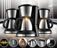 Wholesale china makers - China Fxunshi MD-230S American coffee machine drip coffee maker full automatic coffee pot Stainless steel strainer 110-220-240v