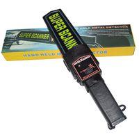 Wholesale Portable Hand Scanner - Free Shipping! Professional Portable high sensitive Super Scanner Handheld Metal Detector MD3003B1 Hand held Metal Detector!