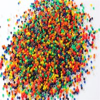 A proposito di 7000pcs = 1Bag perla a forma di terreno di cristallo del fango borda Polymer crescere magica Jelly Gel palle Home Decor Aqua