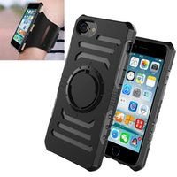Wholesale Magnetic Arm - ARONTIME Riding Running Sport Arm Band Case For iPhone 7 Armband For iPhone 5 SE 6 6s Plus galaxy S6 S7 edge fashion Magnetic suction case