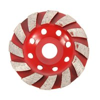 Wholesale Disc For Grinding Wheel - 4 Inch 100mm Diamond Grinding Wheel Disc for Marble Concrete Granite Stone 8 Holes