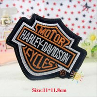 Wholesale Wholesale Jean Patches - 10pcs Military Badge Stickers Patch For Clothing Iron On Patches parches Embroidered Dress Jean Jacket Fabric Patchwork Biker Army Appliques