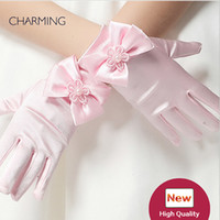 Wholesale China Wedding Dresses Suppliers - Gloves of the bride Kids beauty contest And dress for flower girl wedding Kids dresses for girls Best flower girl Product supplier china