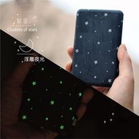 Wholesale Star Phone Batteries - Wholesale- Stars Luminous Original 10000mAh USB Mobile Power Bank External Battery Li-Polymer Charger For Android IPad ALL Phones Tablets