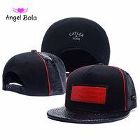 Wholesale Cheap Angels Hats - Angel Bola 2017 new Popular CAYLER & SONS Snapback Adjustable Baseball Hats hats,Sport Street Ball caps,Cheap Athletic Outdoor Headwears
