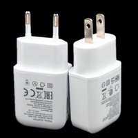 Wholesale g5 g4 resale online - Fast Charging V A V A Eu US Ac home travel wall charger power adapter for LG G5 G4 V10 Nexus For samsung s7 s8 android phone