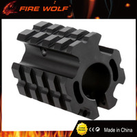"Wholesale gas quad - FIRE WOLF PRO Model 4 15 Low-profile for .75"" Barrel Quad-rail Gas Block For Hunting scope mount"