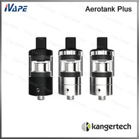 Wholesale drip tip kanger for sale - Group buy 100 Original Kanger Aerotank Plus Atomizer ml Aerotank Plus Tank Top Filing With Adjustable Airflow Valve MTL Drip Tip SSOCC Coil Head