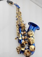 Wholesale Curved Soprano - 2017 High Quality hot sax Tom BB Soprano Saxophone curve of B created musical instrument Saxophone Sax for children