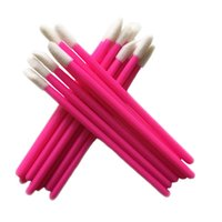 Wholesale eyeliner wand resale online - Price For Disposable Cosmetic Lip Brush Lipstick Gloss Wands Applicator Makeup Tool Brushes