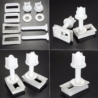 Wholesale Hinge Repair - 1 Pair Toilet Seat Hinge Bolts Replacement Screws Fixing Fitting Kit Toilet Seat Repair Tool