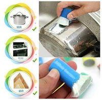 Wholesale Stainless Steel Decontamination Magic Stick - 2pc Magic stick stainless steel decontamination Cleaning Brush Metal Rust Remover Cleaning Stick Wash Brush Pot