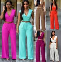 Wholesale Wide Leg High Waisted - High Waist V-neck Wide Leg Pants Irregular Women Suit Crop Top and Shorts Set Color Women 2 Piece Pants Sets Outfit
