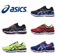Wholesale Gel Cushions Shoes - 2017 Wholesale Asics Gel-Kayano 22 Cushioning Running Shoes T547N T5A1N TJG538 Men Original Top Quality Boots Athletic Sport Sneakers 36-45