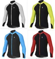 Wholesale Bike Jerseys Sale - Factory Sale Hot 2015 Men New Cycling Match Bike Wear Cycling Long Sleeve Jersey Outdoor Rope Ciclismo Autumn Breathable Racing MTB Clothing