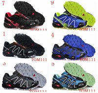 Wholesale Hot Cs - SPEEDCROSS New Hot 2016 Outdoor hiking shoes CS shoes waterproof cross country Sports Running Shoe Size 40-46 Free Shipping
