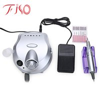 Wholesale Professional Manicure Pedicure - Wholesale- Professional Nail Art Equipment Low Noise and Vibration Electric Nail Art Polisher File Drill Manicure Pedicure Machine