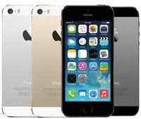 telefones celulares de tela de toque desbloqueados venda por atacado-Original apple iphone 5s no touch id 64 gb 32 gb 16 gb ios 8 4.0 polegadas tela original recondicionado desbloqueado telefone celular